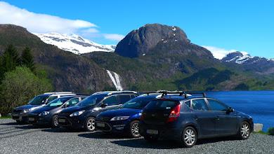 Photo: Parkeringsplassen ved Otterstein