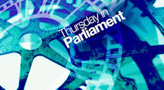 Thursday in Parliament