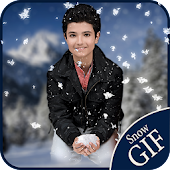 Snowfall on Photo:Gif Maker