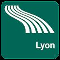 Karte von Lyon offline