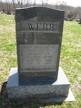 Photo: Leigh, whose reflection appears on the face of the monument, is descended from Francis Webb.