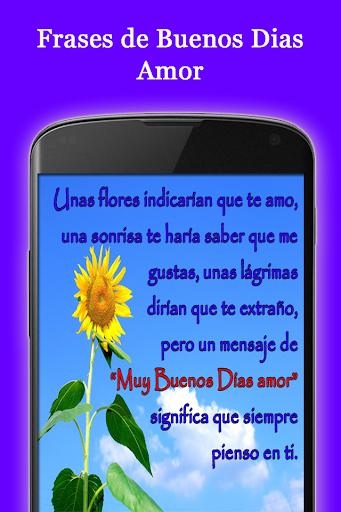 Frases De Buenos Dias Amor Apk Download Apkpure Co