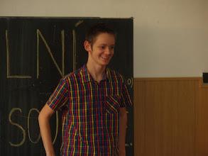 Photo: Školní kolo recitační soutěže - Albert z 2. A.