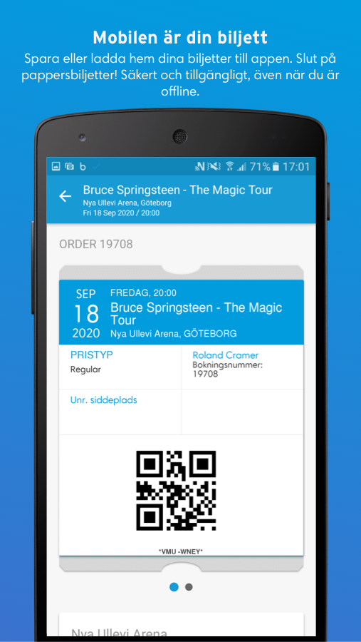 Ticketmaster- screenshot