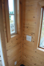 Photo: Light switches installed in a Tiny House.