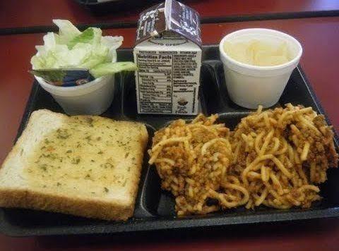 School Cafeteria Spaghetti Recipe