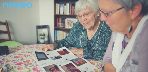 Create a printed photo album and send it to a family member.