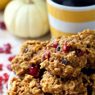 Gluten-Free Pumpkin Breakfast Cookies.