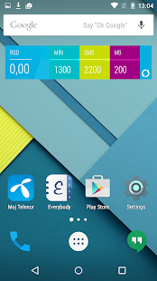 Moj Telenor- screenshot thumbnail