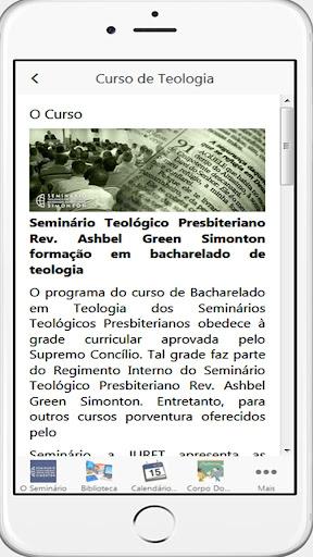 Seminu00e1rio Presbiteriano Simonton 33.0 screenshots 4