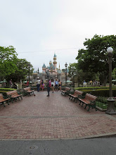 Photo: Disneyland - The Disney castle, smaller than we thought