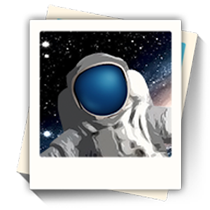 KARI 우주인 포토 아이콘