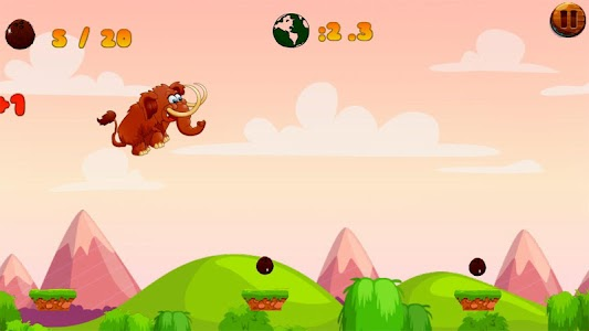 Jungle Mammoth Run screenshot 5