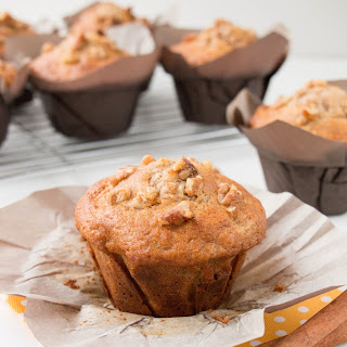 Bakery Style Banana Nut Muffins