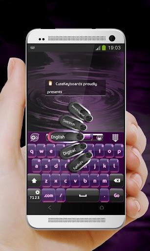 數字紫 GO Keyboard