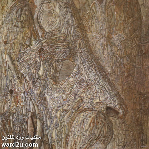 الفوضى المنتظمه في لوحات الفنان Ivan Marchuk