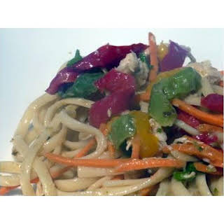 Spicy Asian Noodle Salad.