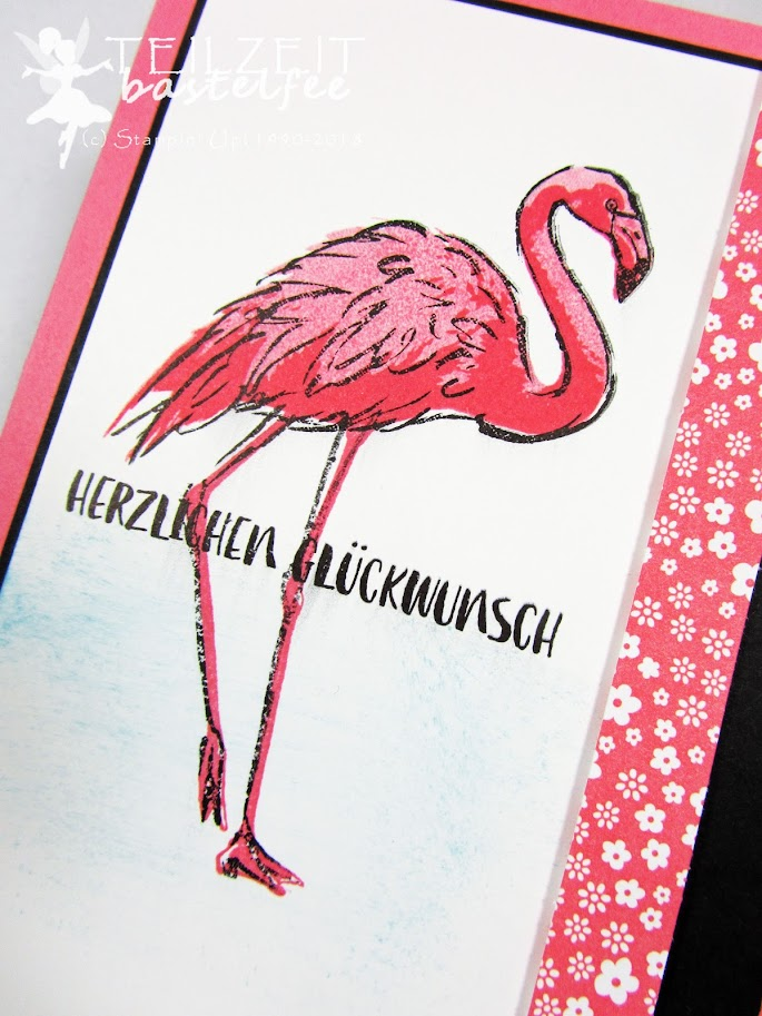 Stampin' Up! - Fabulous Flamingo, Flamingo Fantasie,