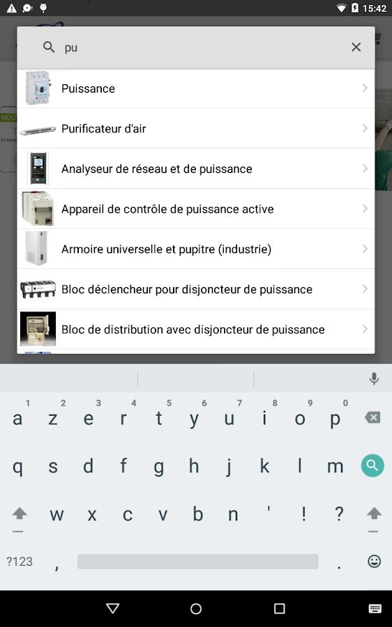 Soneshop applications android sur google play - Comptoir lyonnais d electricite ...
