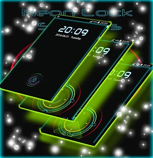 Neon Lock Screens - náhled