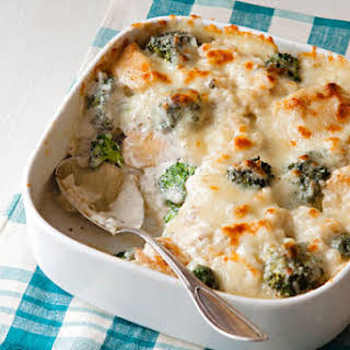 Chicken & Broccoli Rice Bake.