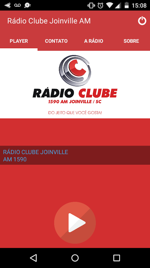Radio Clube AM Joinville- screenshot