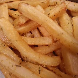 Garlic Parmesan Fries.
