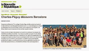 Photo: 2014-04-29 NR Charles-Péguy découvre Barcelone