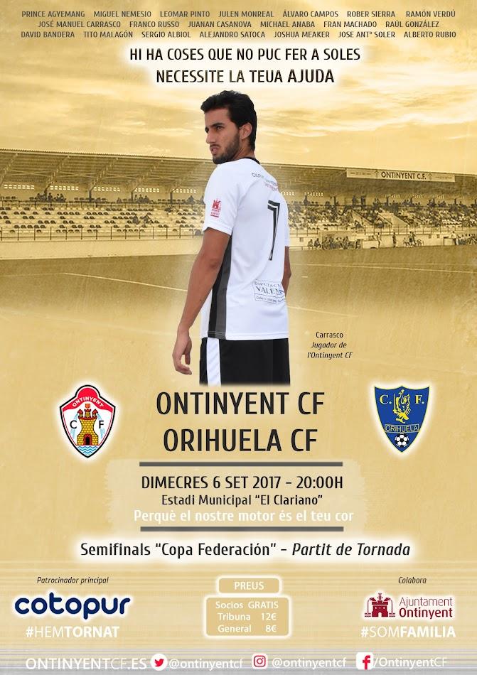 Ontinyent CF Orihuela CF Copa RFEF