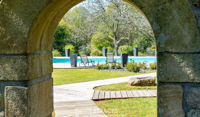 Maison avec piscine et terrasse Daoulas