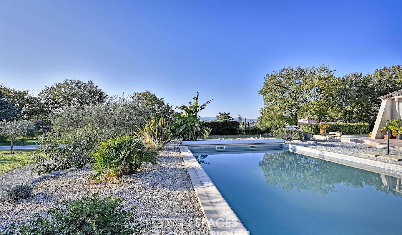 Maison avec piscine et terrasse Lédignan