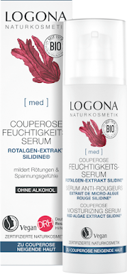 MED Couperose Moisturizing Facial Serum red algae extract