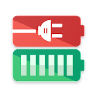 Battery Charging Animation + full battery alarm icon