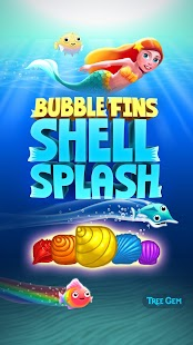 Bubble Fins - Shell Splash- screenshot thumbnail