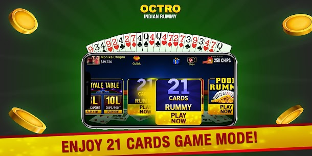 Indian Rummy (13 & 21 Cards) by Octro 6