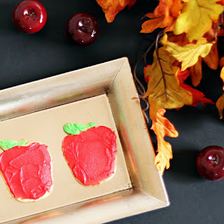 Apple Sugar Back to School Cookies