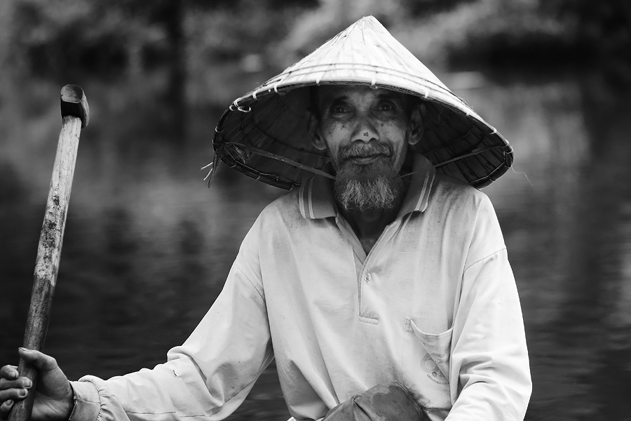 Kung Fu Master by Muhammad Rafiuddin - People Portraits of Men