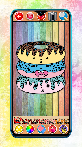 Kawaii Coloring Book Glitter screenshot 5