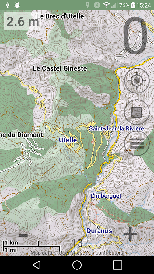 Cycle & Hike Map- screenshot