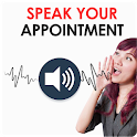 Speak Your appointment – Voice Task Assistant icon