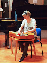 Photo: Eija playing the Kanteele
