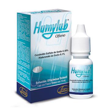 Humylub Ofteno 0.18/0.1%   Fco.x15Ml. SOP Condroitín Sulfato Hialuronato