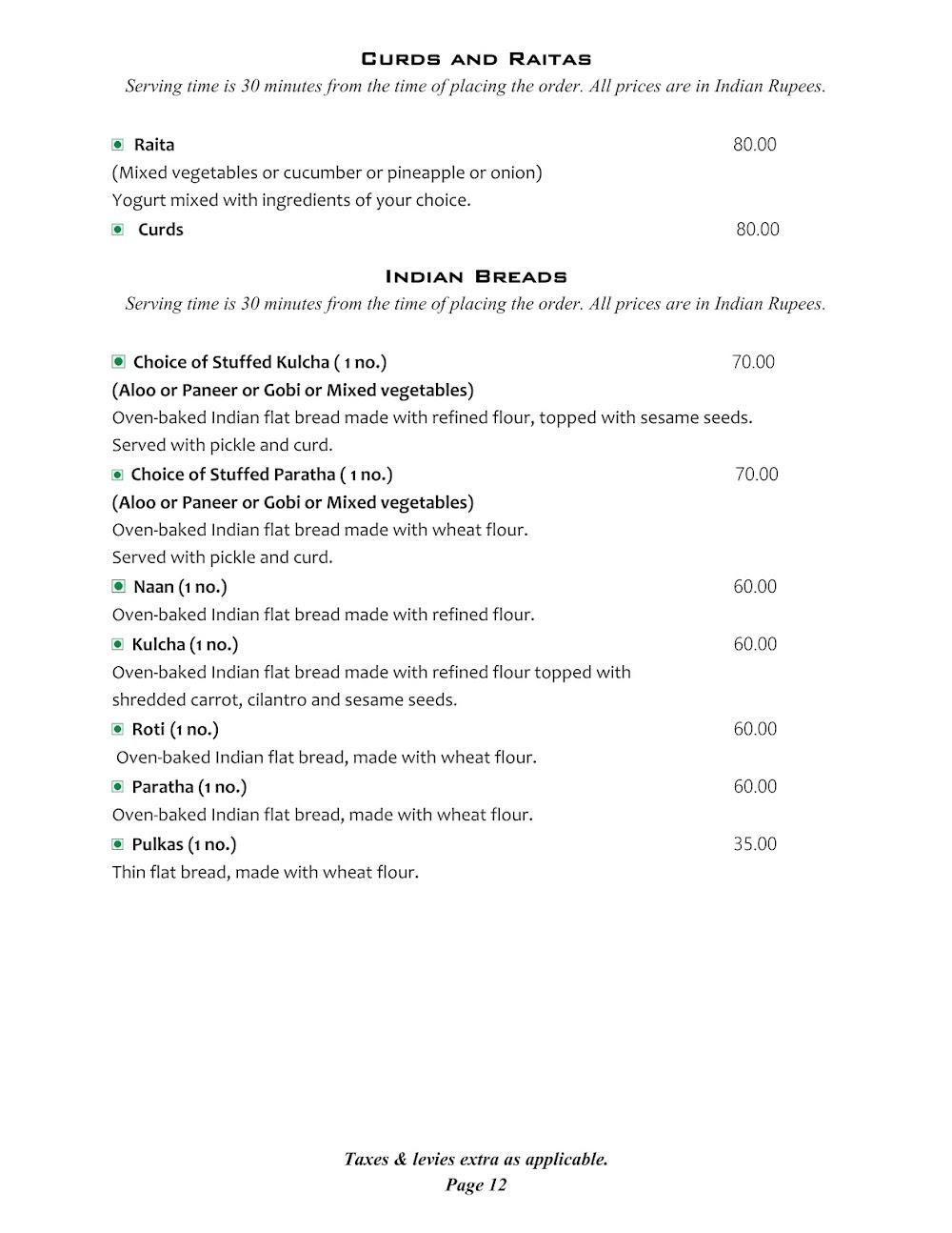 Cafe @ Elanza menu 10