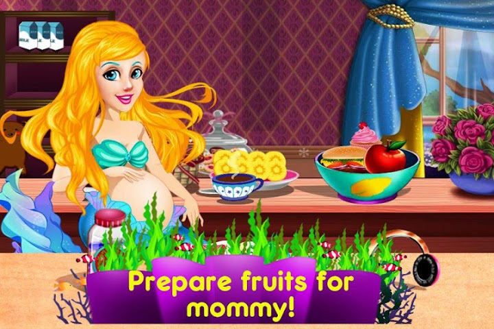 android Mermaid's Twins Baby-Preganant Screenshot 8