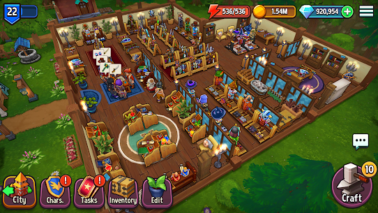 Shop Titans: Epic Idle Crafter, Build & Trade RPG For PC Windows 10 & Mac 6