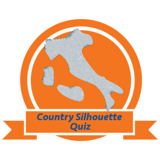 Country Silhouette Quiz 拼字 LOGO-玩APPs