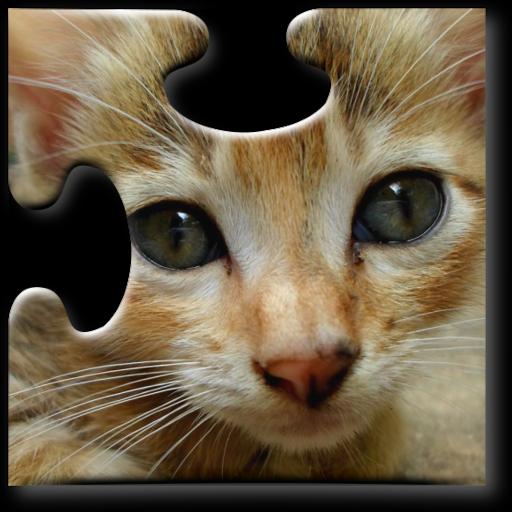 子供のための猫ジグソーパズル 教育 App LOGO-APP開箱王
