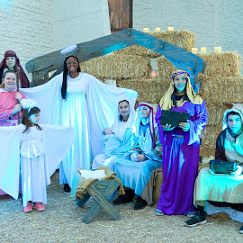 Live Nativity by Nancy Young - Public Holidays Christmas ( people, christmas, holiday, nativity, live,  )