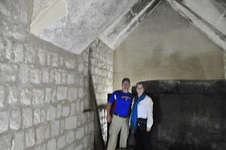 Photo: Us in King Titi tomb