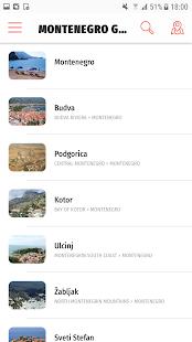 ✈ Montenegro Travel Guide Offline - náhled